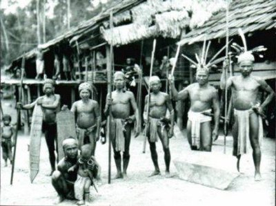 headhunters of Borneo