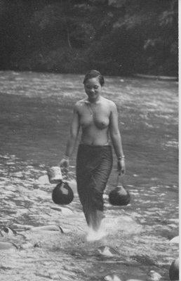 Dayak lady of Borneo