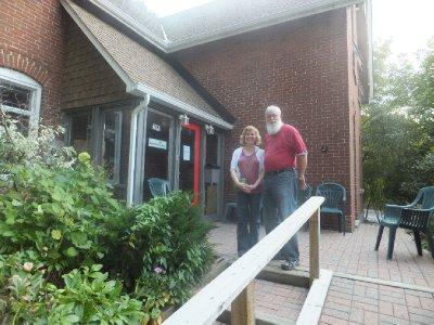 Kim and Jim at Matthew House Ottawa
