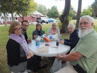 Lunch in Burlington VT