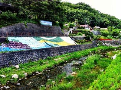 Firefly Park in Nika's Kamo River, Takehara