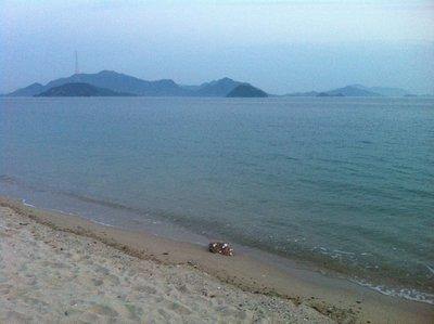 Okunoshima From the Shore