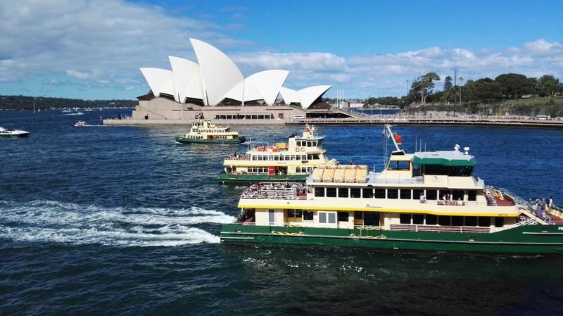 Sydney Harbor Ferries