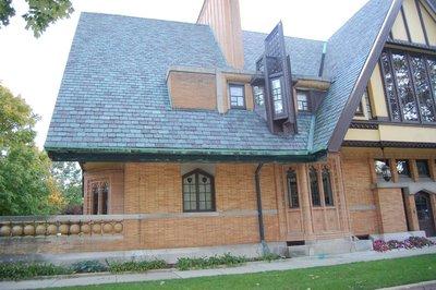 Frank Lloyd Wright home in Oak Park
