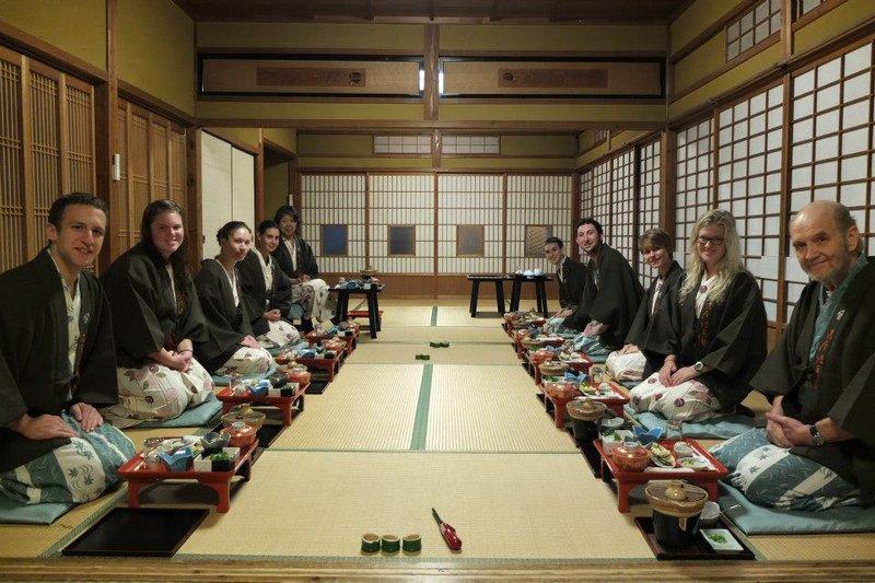 Breakfast at the Hanaya Tokubei