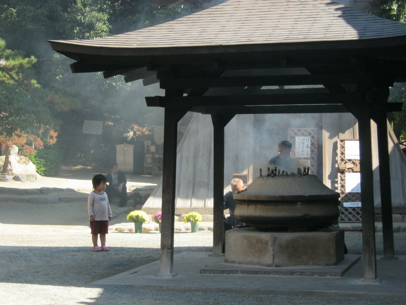 Girl and Incense