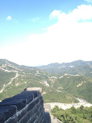 Atop the Great Wall