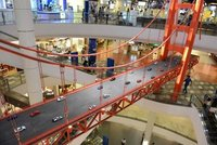 Petit voyage a San Francisco dans un mall de bangkok!