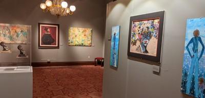 Art Exhibit at the Atheneum