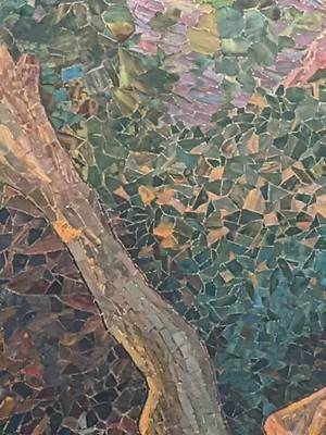 Mosiac of Tiffany Glass