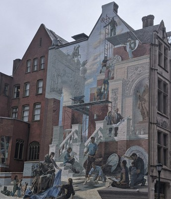 Impressive Wall Mural