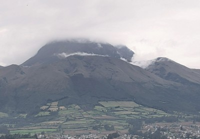 The Clouds Cover the Peak This Morning