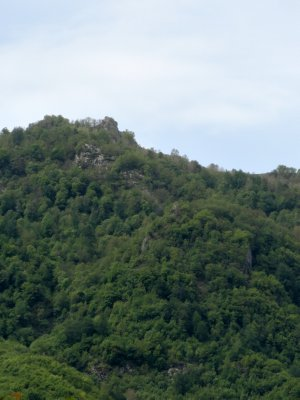Castle Remains over Lahic 5-23-2013 12-23-51 AM