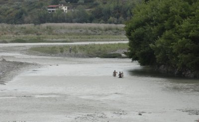 Fishing in the Osum River