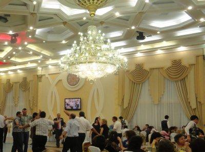 Men Begin to Dance