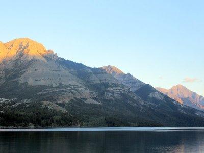 Morning at Waterton Lake