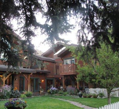 My Balcony Room at the Alpine Lodge