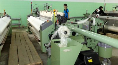New Equipment in Silk Factory