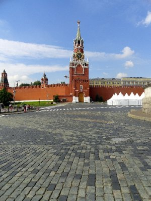 On the Edge of Red Square
