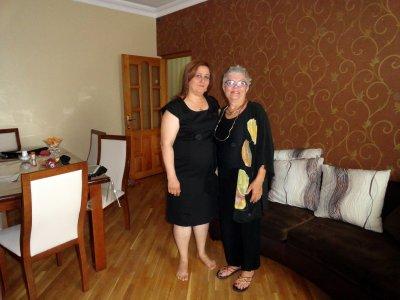 Sevda and Paula Ready for the Party