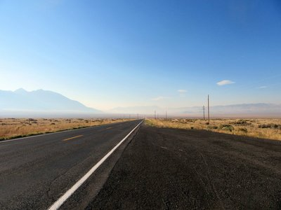 This Is a Straight Flat Road