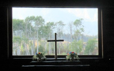 View from Historic Chapel Altar
