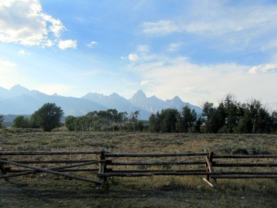 What I Saw of the Tetons