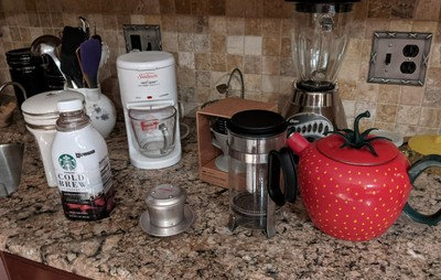 Took a Week and Three Purchases to Be Able to Make a Good Cup of Coffee