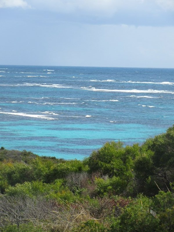 Indian Ocean is Turquoise Today