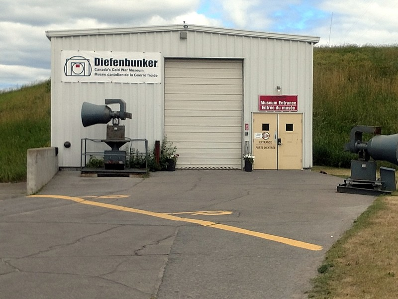Entrance to the Diefenbunker