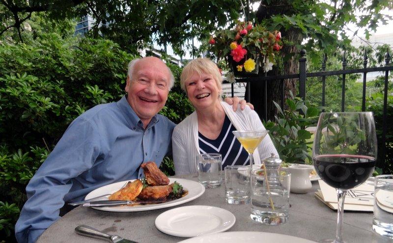 Bert and Diane in Portland