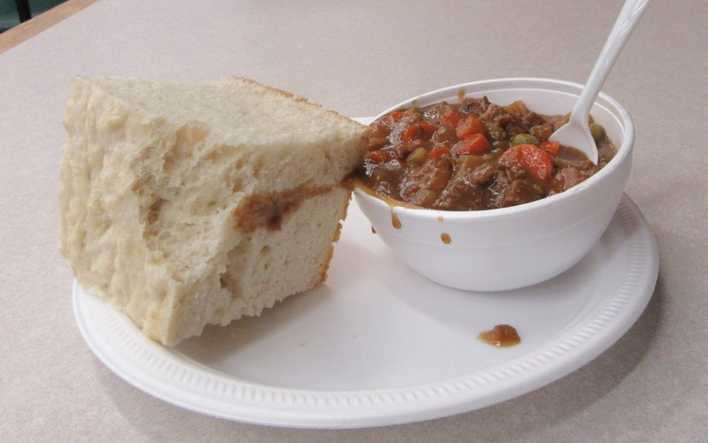 Bison Stew and Bannock