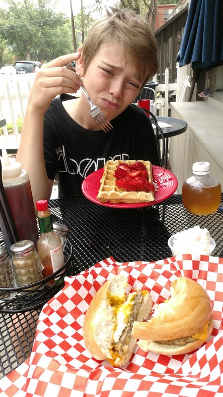 Breakfast at Waffle Brothers