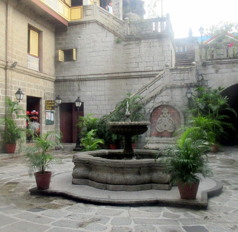 Courtyard of the Intramuso Museum