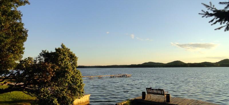 Evening on Bass Lake