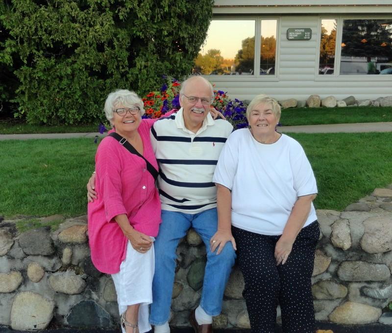 Paula, Charles, and Denyse