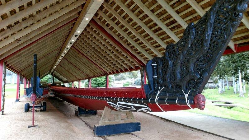Replica War Canoe
