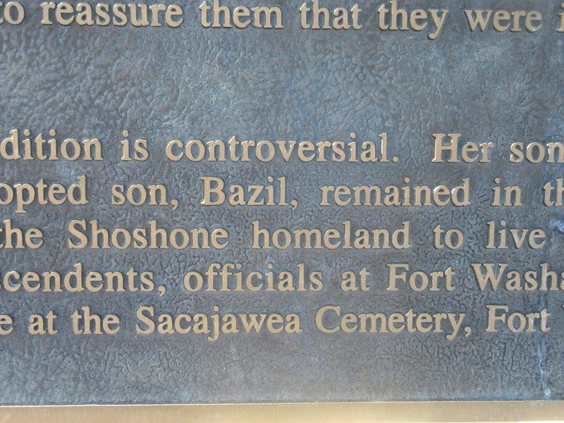 Sacajawea Had a Son Named Bazil