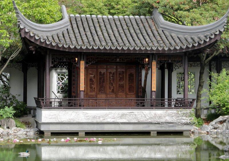 Suzhoa Style Sweeping Roof