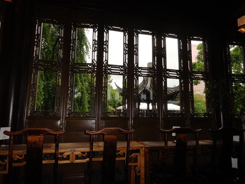 Through the Teahouse Window