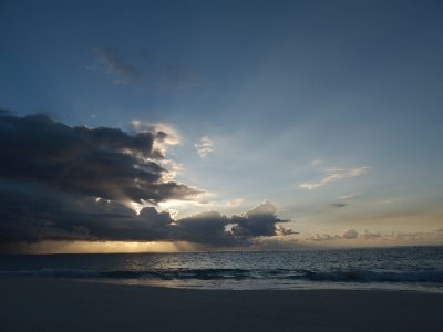 Sunrise at Elbow Beach