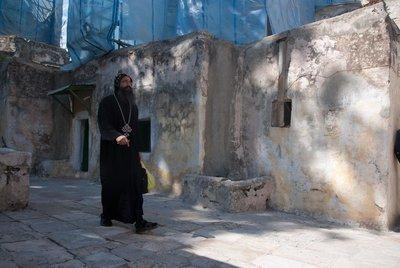 Jerusalem - man in black