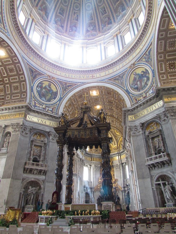 Inside Saint Peters