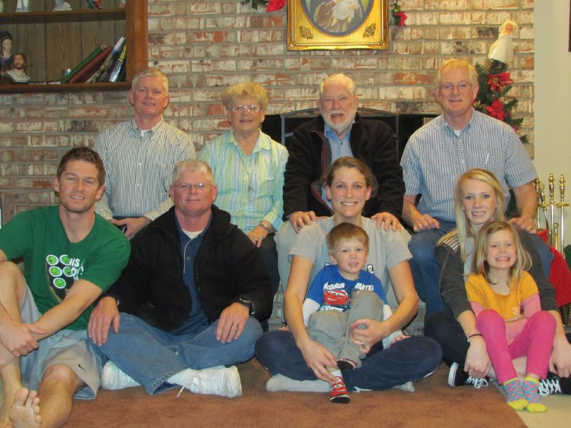 A White Christmas with the White Family