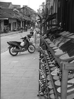 Shoe-eye view of Hoi An's streets