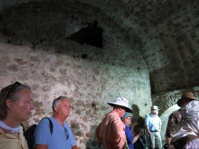 Cape Coast castle dungeon