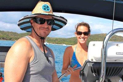 Katie & Pete Sailing