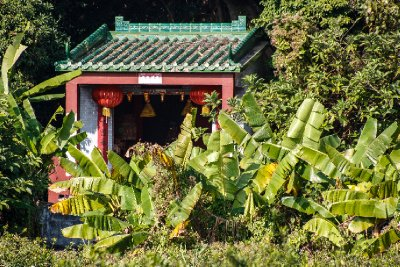 Qi'Ao temple in the trees