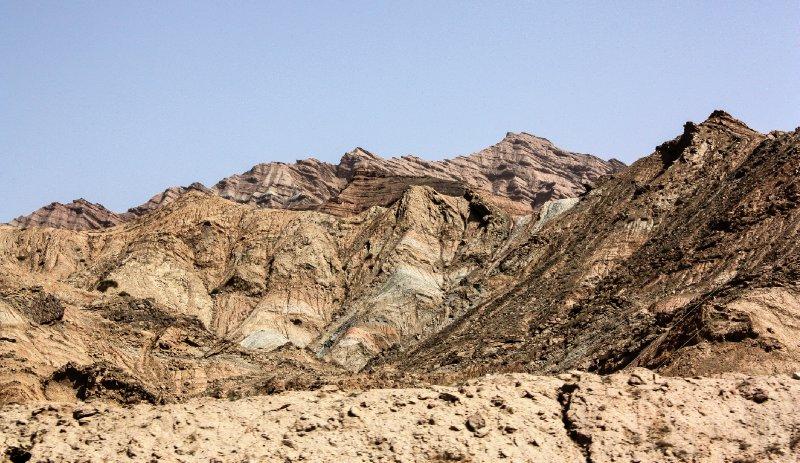 Kizil Tian Shan Foothills 14 and Taklamaka Desert