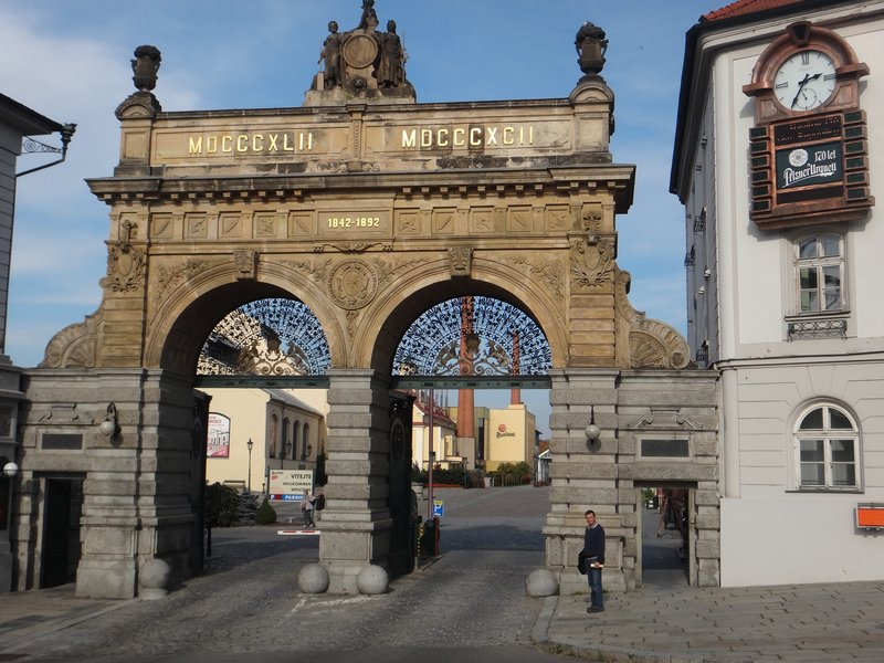 Pilsner Urquell brewery gates